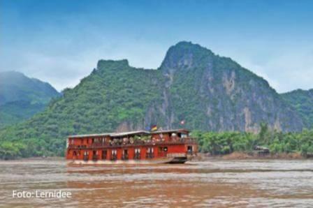 Mekong Flusskreuzfahrt - reisen durch Thailand und Laos