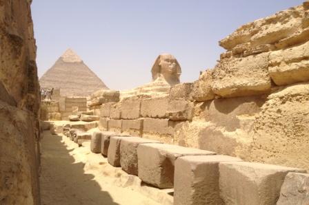 Pyramiden und Spinx